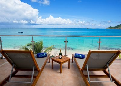 TWO BEDROOM BLEU EMERAUDE TERRACE CARIBBEAN SEA VIEW